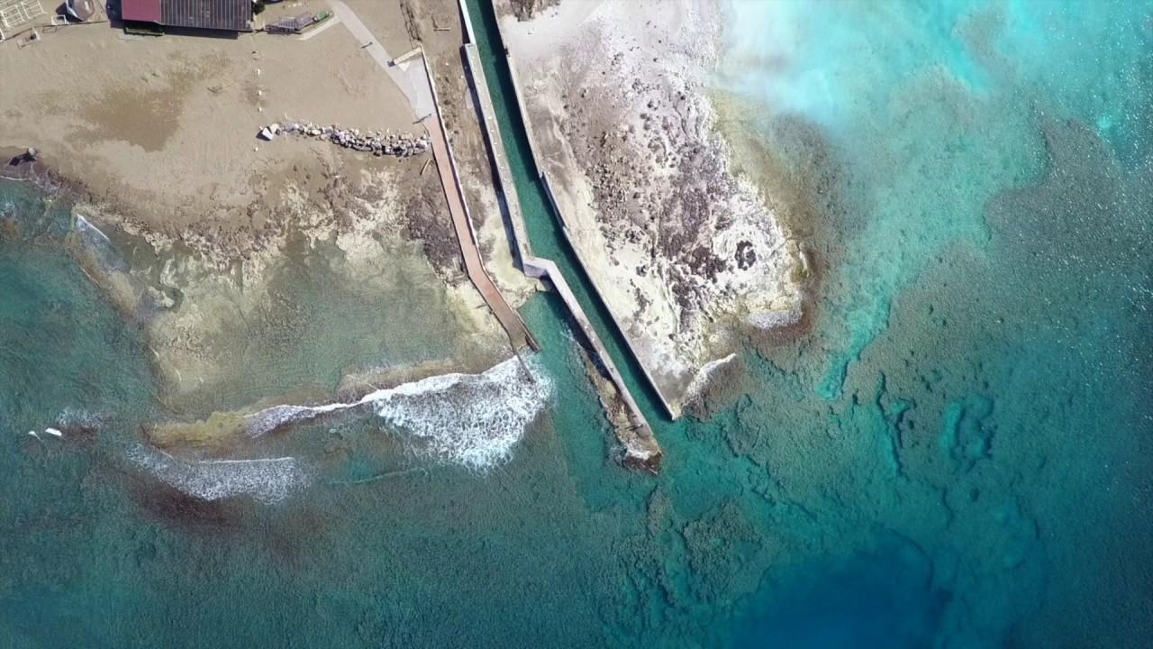 Bagno Lillatro : Dji mavic pro lillatro spiagge bianche di rosignano solvay