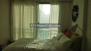 8 Hour BTS Piano Music for Studying   Relaxing Playlist