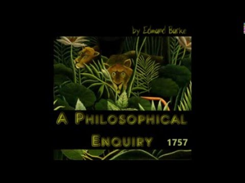 A Philosophical Inquirey by Edmund Burke 1757