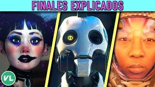 TODOS LOS FINALES EXPLICADOS EN: Love, Death and Robots - (Netflix) thumbnail