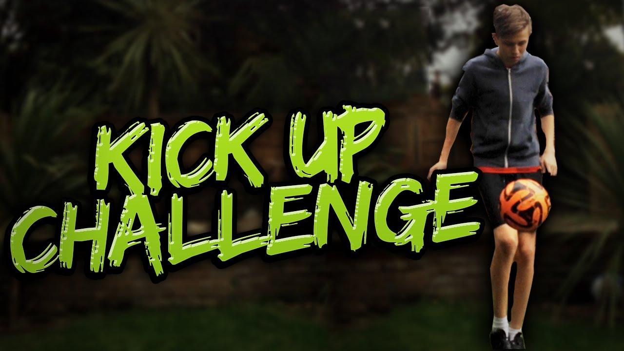KICK UP CHALLENGE!! - YouTube