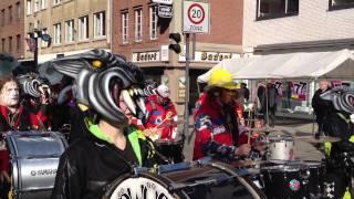Stockberg-Schränzer Siebnen und Notäwürger Seewen - Rhythmus - Umzug Neuss 2012