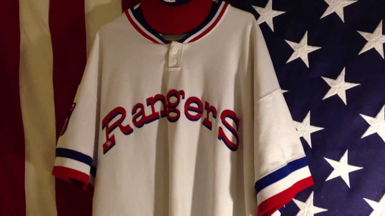 more photos 1032b 1b586 Mitchell and Ness Texas Rangers 1976 White Home Jersey/ New Era 59fifty  Texas Rangers 1972 Cap