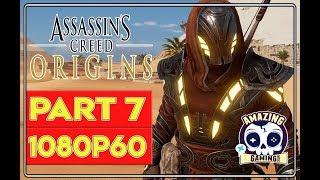 ASSASSIN'S CREED ORIGINS - Gameplay Walkthrough #7(No Commentary!)