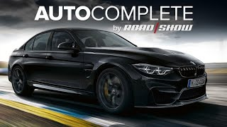 AutoComplete: BMW M3 CS is the fastest production 3 Series, ever