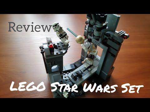Обзор LEGO Star Wars: Побег со Звезды смерти.