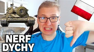 NERF POLSKIEJ DYCHY i 8000 DMG - World of Tanks