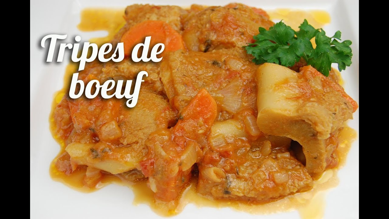 La Cuisine De Reference English Translation Ragoût De Tripes De Boeuf Youtube