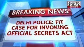 Fit Case For Invoking Official Secrets Act: Delhi Police In Corporate Espionage Case