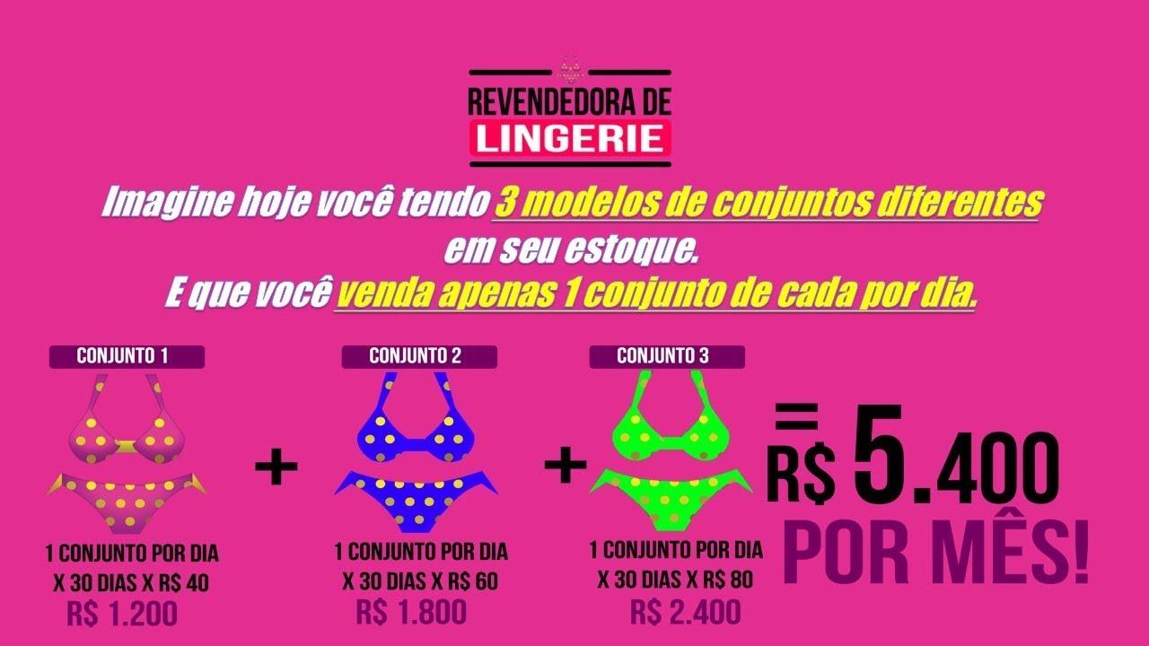 Revendedora de Lingerie de Sucesso - Revender Lingerie - YouTube 4cfba64ca2d