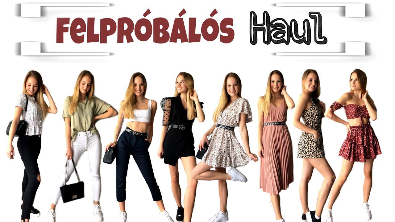 TAVASZI-NYÁRI FELPRÓBÁLOS HAUL | Bóna Bianka