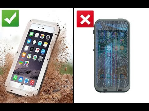 buy popular 9e7ea 4375e Unboxing Review-Luxury Doom Armor Life Dropproof | Waterproof Best Case  iPhone 6/6S, 7+/8 Plus