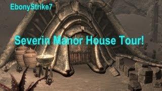 Skyrim House Tour #1 | Severin Manor |