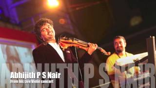 Ethrayo janmamay From Abhijith P S Nair Live violin concert