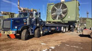 Calder Services Gas Compressor Relocation