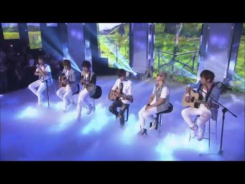 110805 MTV The Show N-Train - One Last Cry (Acoustic Version)
