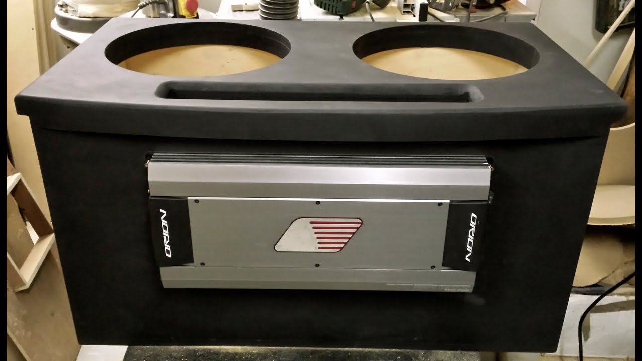 project 150DB Boot Install 2x orion hcca 15''s & 2x orion ...