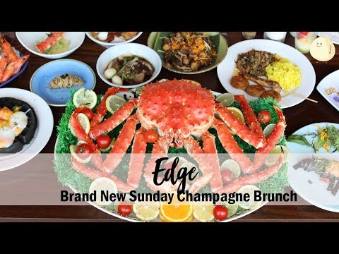 Edge – Sunday Champagne Brunch, With Indulgent Spread From