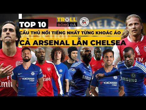 David Luiz Và Những Cầu Thủ Nổi Tiếng Nhất Từng Khoác áo Cả Arsenal Lẫn Chelsea