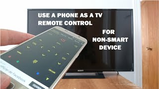 How to use a Smartphone as a remote control for NON-SMART TV & devices screenshot 2