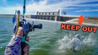 DANGEROUS Fishing at Mexico Border!! (DON'T GO HERE)
