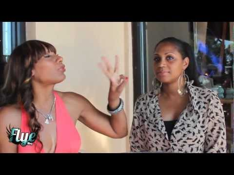 Trina Braxton Arguing With Towanda After Her Interview With FlyeMag.com