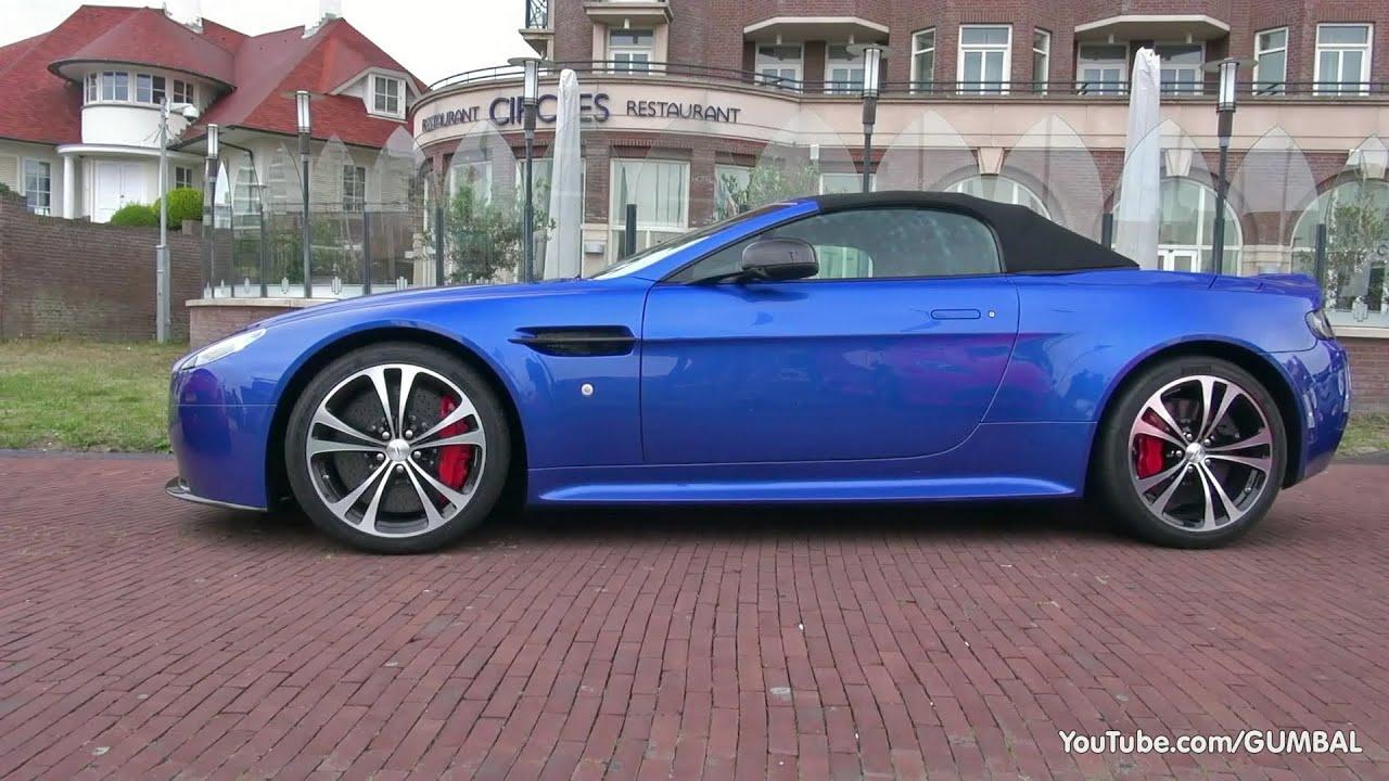 Aston Martin V12 Vantage Roadster Vanquish Db9 V8 Vantage Sounds Youtube