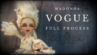 Madonna OOAK Doll Repaint Vogue VMA Monster High Custom