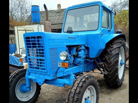Обзор МТЗ-80. Трактор после восстановления.