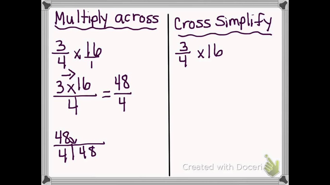hight resolution of Repeated Addition and Fraction Multiplication (solutions