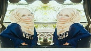 Hijab Tutorial with gown & salower kameej (requested)||Farzana Alin||