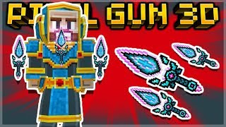 CRAFTING THE ENCHANTED BLADES MYTHICAL SPECIAL WEAPON! | Pixel Gun 3D