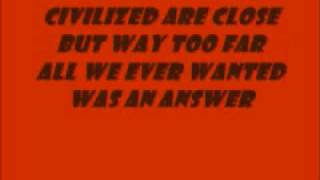 96 Quite Bitter Beings By CKY (lyrics)