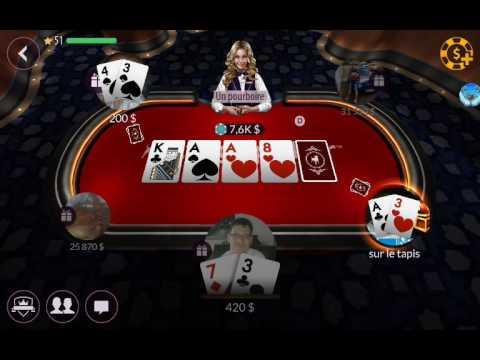 détente sur zynga poker partie 1 android ( francais )  ( fr )