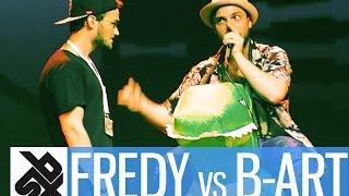 fredy beats vs b art   shootout beatbox battle 2016   semi final