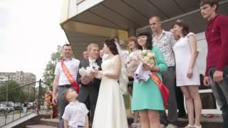 Свадьба Алчевск 31 мая 2014 года