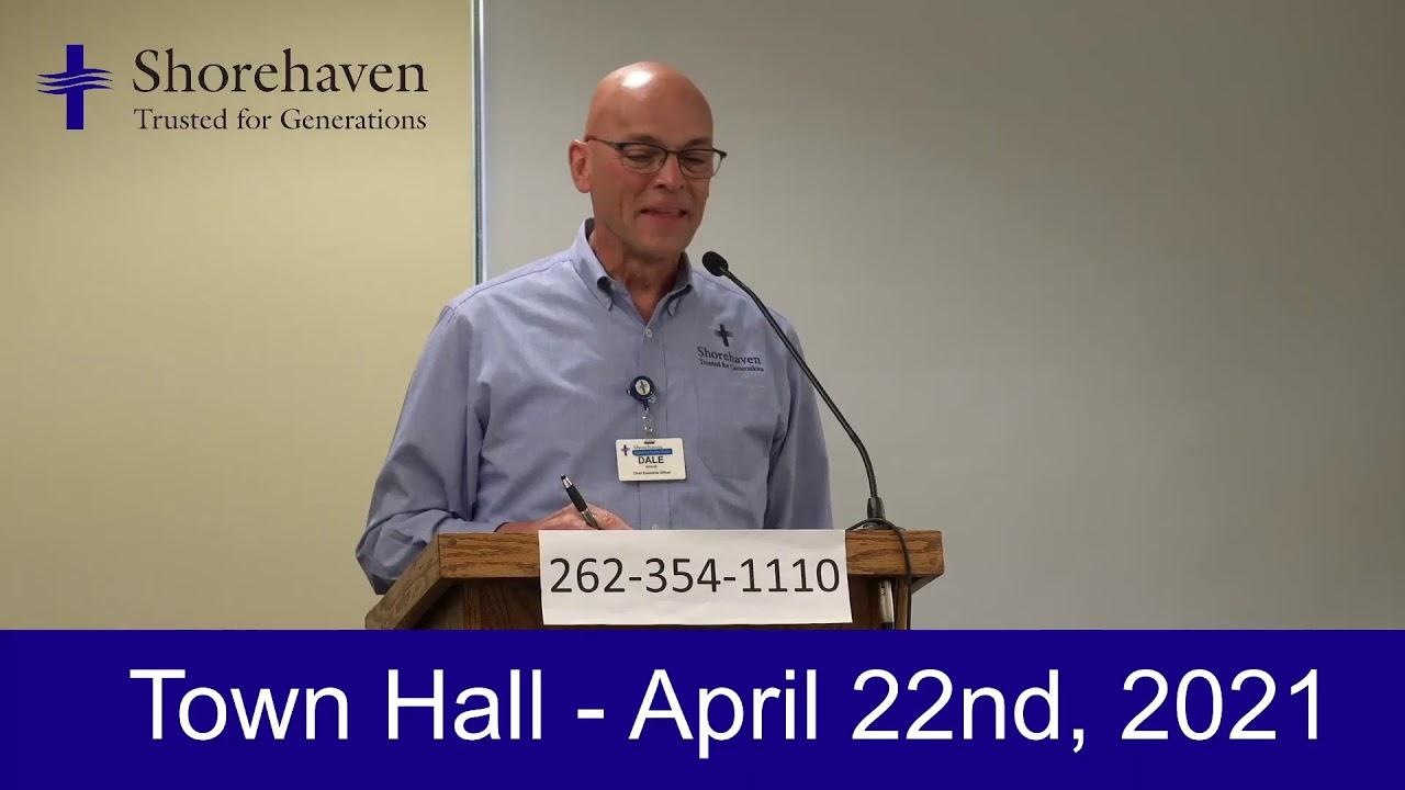 Town Hall 4-22-21