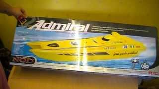 NQD ADMIRAL SPEED BOAT UNBOXING