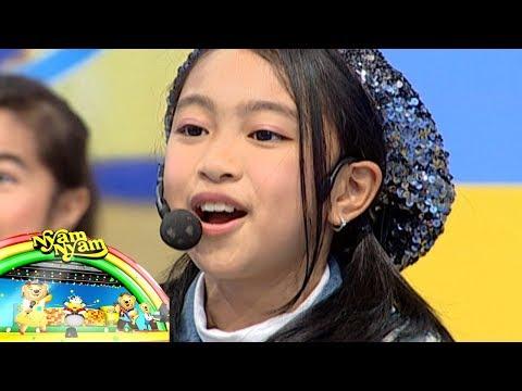 Si Cantik Zara Leola Berhasil Menghibur Anak Anak Sekolah - Let's Play With Nyam Nyam (21/1)