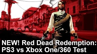 New! Red Dead Redemption: PS3 vs Xbox One/360 Gameplay Frame-Rate Test