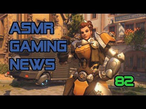 ASMR Gaming News (82) Brigitte Overwatch, Battlefield V, Yakuza 6, Chrono Trigger, PS4, Persona +