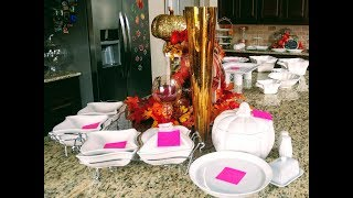 How To Set Up Thanksgiving Dinner Buffet