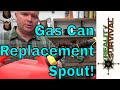 Gas Can Fill Hose Replacement Tip For Preppers & Homesteaders