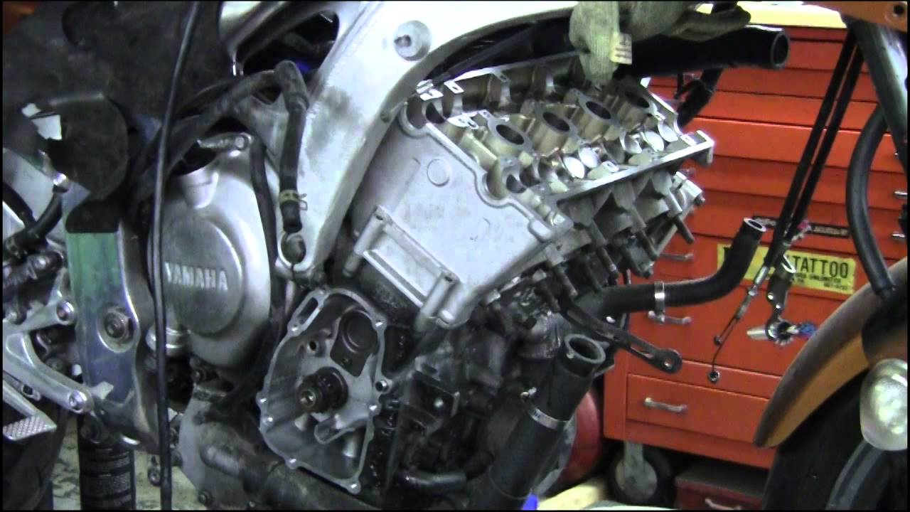 yamaha r6 pt 1 camshaft crankshaft timing