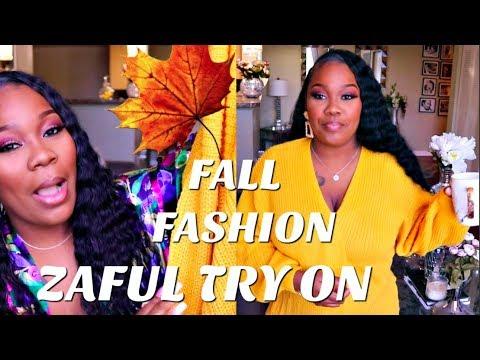 ZAFUL 2018  FALL TRY ON HAUL