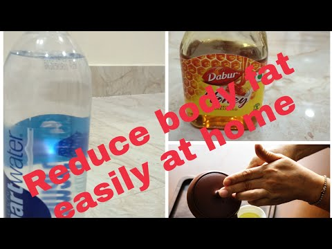 HOW TO REDUCE  BODY FAT/BELLY FAT  in Telugu/WEIGHT LOSS / NATURAL HOME REMIDY/BEST RESULT EASY TIPS