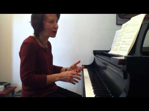 Edna Golandsky discusses playing in slow tempi: Chopin C# minor Nocturne 3/4