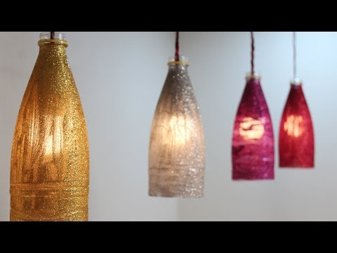 Plastic Bottle Lanterns - Using Coke Plastic Bottles Craft