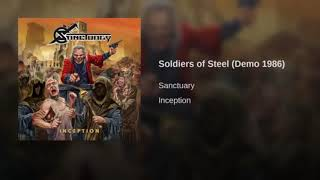 SANCTUARY - INCEPTION  3 - Soldiers of Steel (Demo 1986)