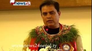 Public speech by Madan Krishna, Hari Bansa, Khilraj & Prem